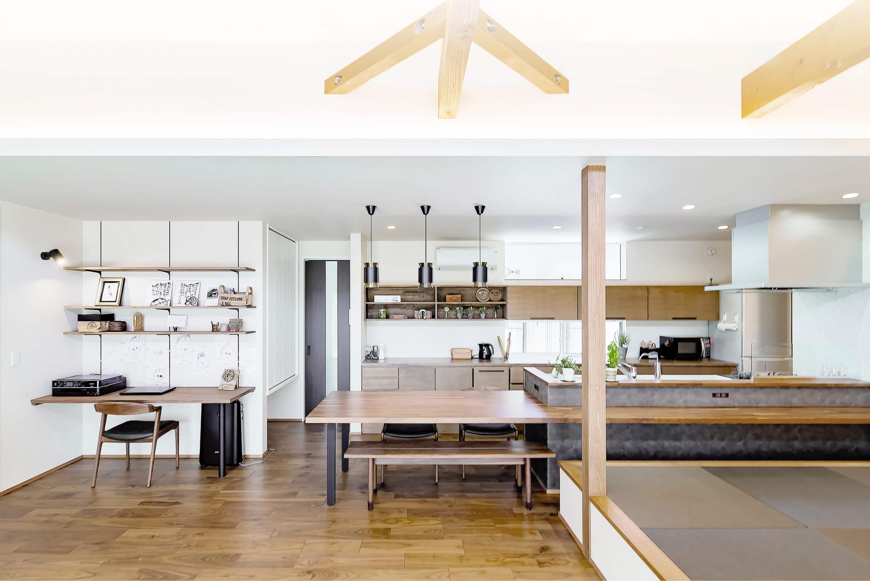 デザインだけの家は、つくらない。