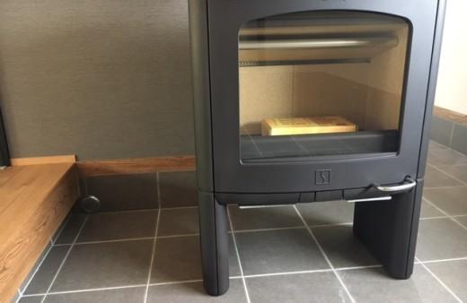 暖炉がある住宅。