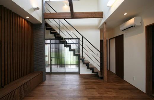 スリット階段下のデッドスペース