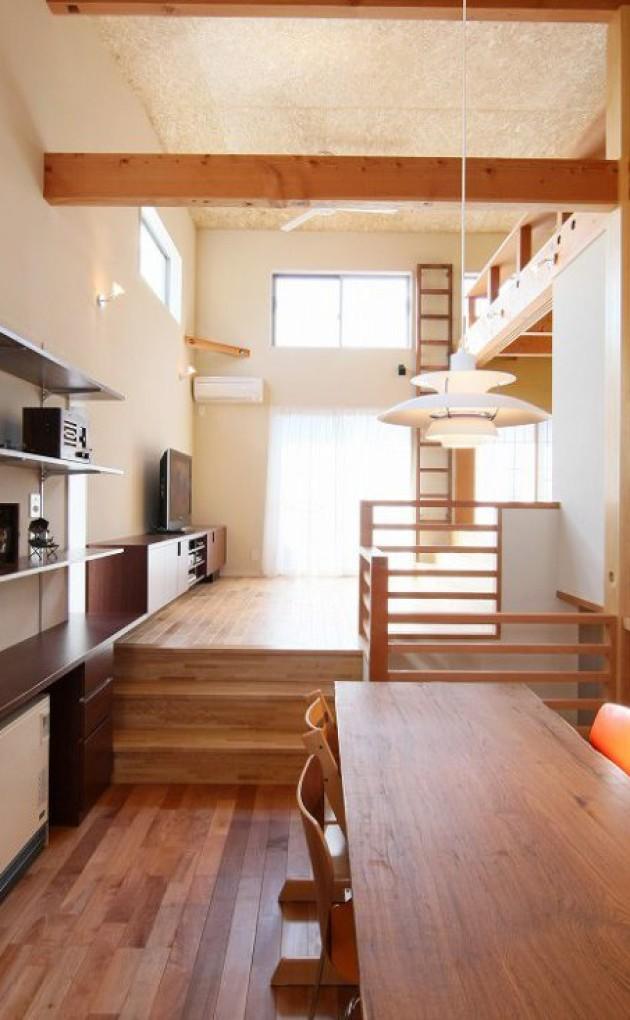 2階建て6層のうずまきハウス