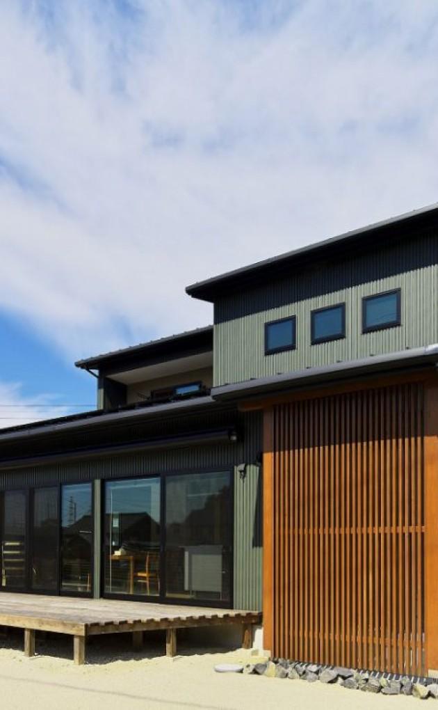 施主さまのこだわりが形になったデザイン住宅