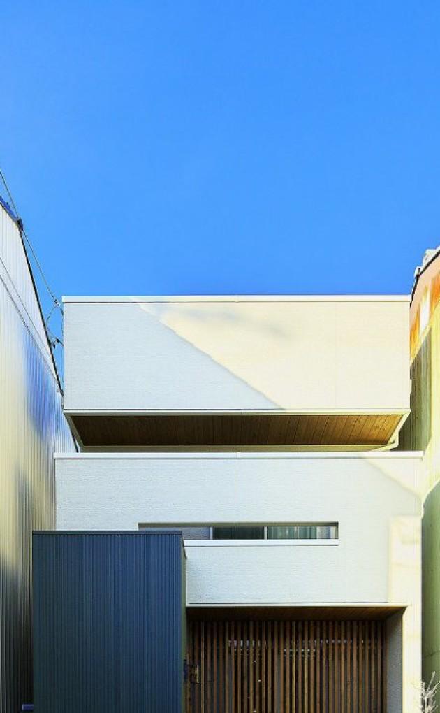 光と風を取り入れた環境にやさしい家