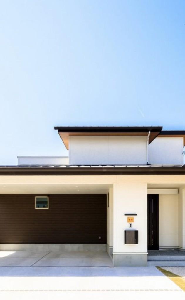ワンフロアで暮らしができる平屋風の家