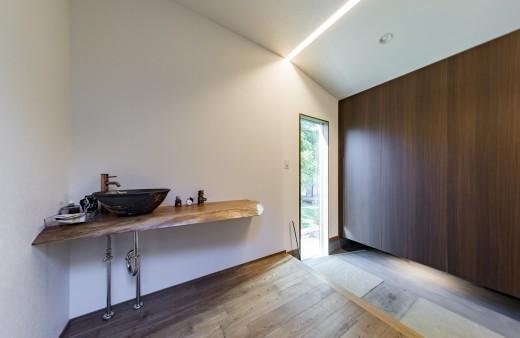 玄関につくる手洗いスペース