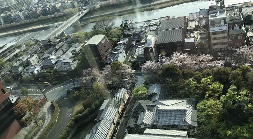 一之舟入(京都高瀬川)と町屋