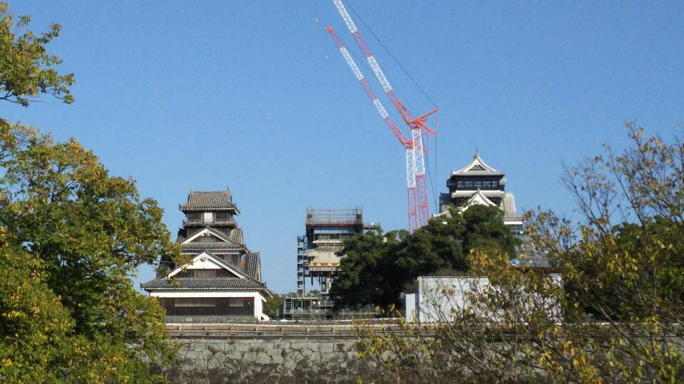 わたくしごとですが・・・・。熊本で思いにふける・・・。