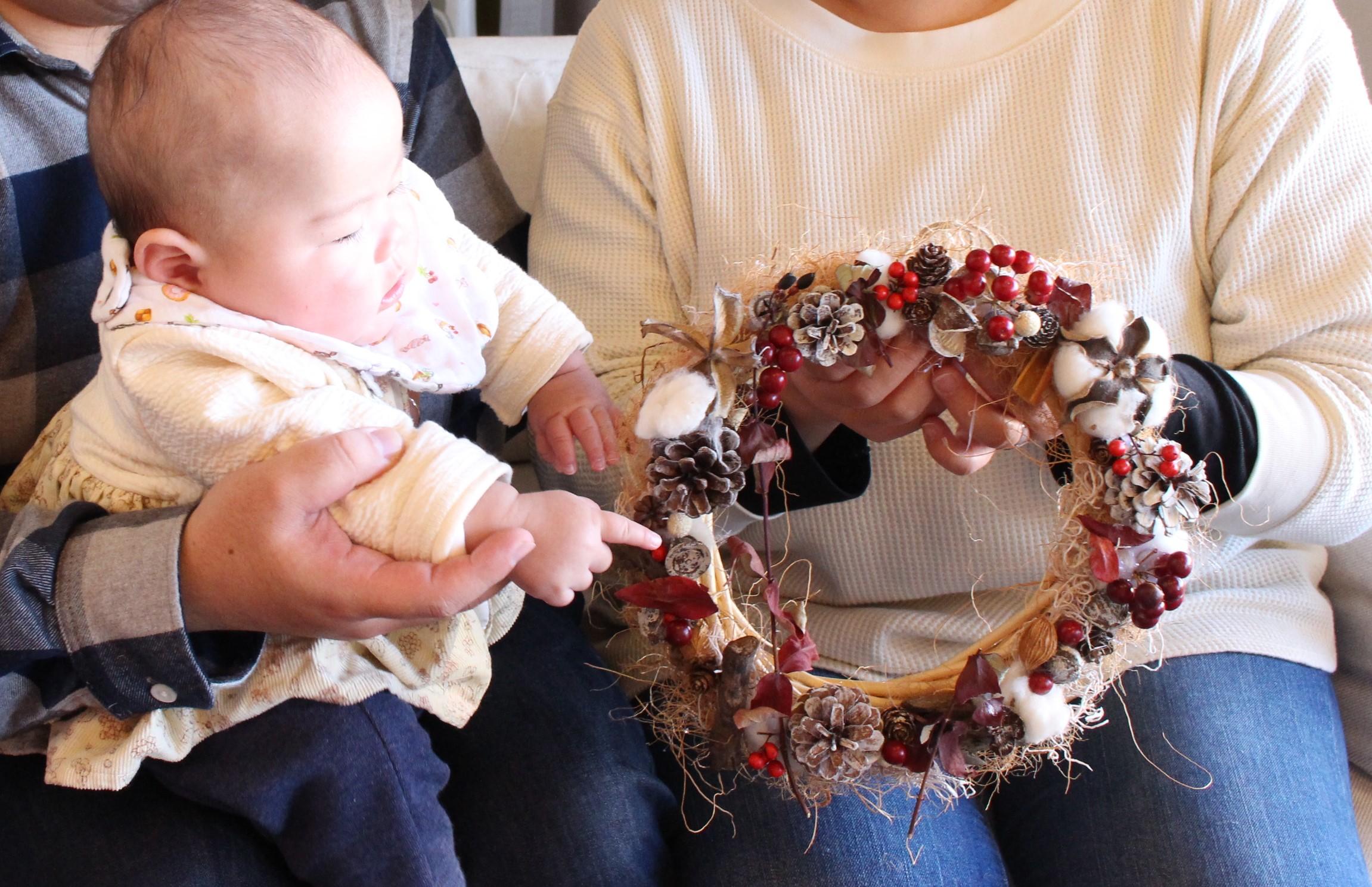 クリスマスツリー手作り体験ログ